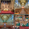 16 x 20 inch Collage of Renovated church plus images from the October 28, Re-blessing Mass Ceremony by Archbishop George Lucas