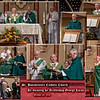Collage of Images from the Re-blessing Mass Ceremony by Archbishop George Lucas, October 28, 2012