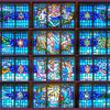 Upper Window Panels 1 Thur 4