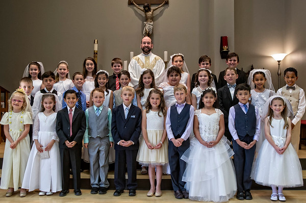 St. Martin De Porres First Communion_2016