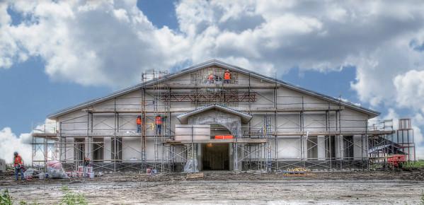 St. Martin de Porres Construction Site