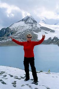 Hiking in Switserland, Griessee, Griessletscher