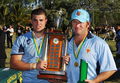 TOWNSVILLE, QLD 14 JUL 2007 - New South Wales Combined High Schools v Queensland Secondary Schools Rugby League / 2007 Under-18 Australian Schoolboys Rugby League Championships - PHOTO: CAMERON LAIRD (PH 0418 238811)