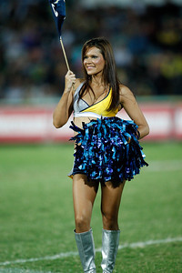 16 August 2008 Townsville, Qld - The HotSquad perform at the North Queensland Cowboys v Gold Coast Titans match - Photo: Cameron Laird (Ph: 0418 238811)