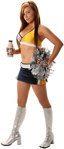 22 April 2008 Townsville, Qld - 2008 North Queensland Cowboys Hotsquad cheergirl Renee Nicol - Photo: Cameron Laird (Ph: 0418 238811)