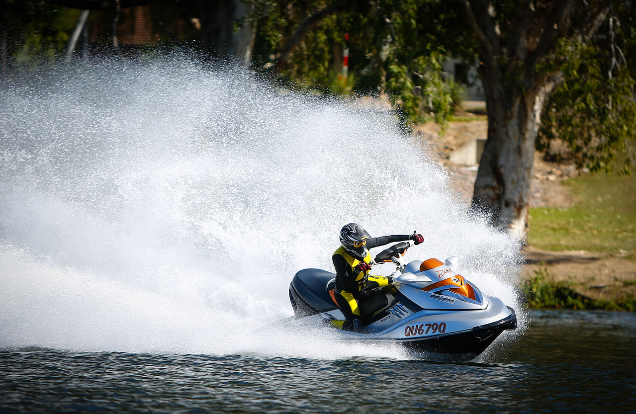 02 June 2013 Townsville, QLD - NQPWCC (North Queensland Personal Water Craft Club) race meet on Townsville's Ross River - Photo: Cameron Laird (Ph: 0418238811)