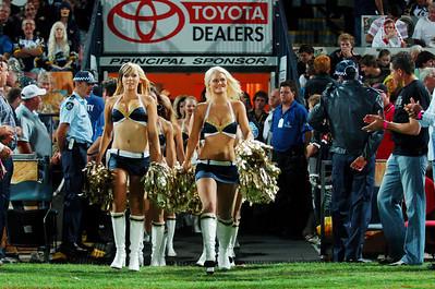 01 SEP 2006 TOWNSVILLE, QLD - Hot Squad - North Queensland Cowboys v Parramatta Eels (Dairy Farmers Stadium) - PHOTO: CAMERON LAIRD
