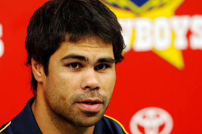 27 SEP 2005 TOWNSVILLE, QLD - Matt Sing at a North Queensland Cowboys media conference - PHOTO: CAMERON LAIRD