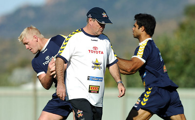 15 AUG 2006 TOWNSVILLE, QLD - Graham Murray at Cowboys training - PHOTO: CAMERON LAIRD