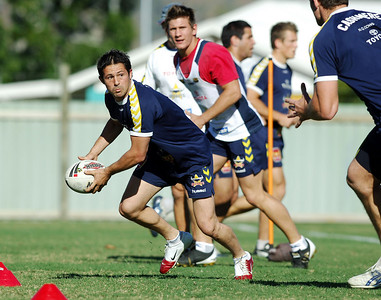 15 AUG 2006 TOWNSVILLE, QLD - Brent McConnell at Cowboys training - PHOTO: CAMERON LAIRD