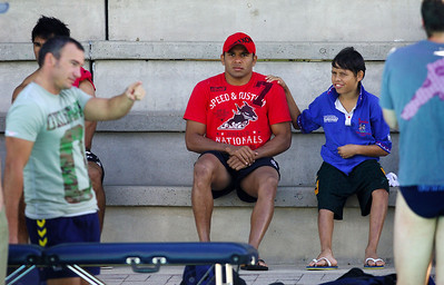 20 AUG 2006 TOWNSVILLE, QLD - Matt Bowen at Cowboys recovery after their 19-12 loss to the Knights - PHOTO: CAMERON LAIRD