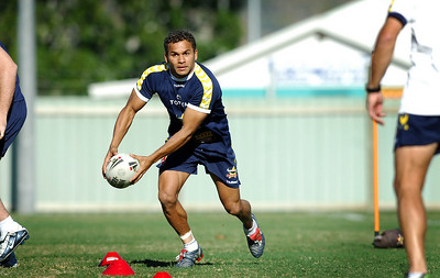 15 AUG 2006 TOWNSVILLE, QLD - Matt Bowen at Cowboys training - PHOTO: CAMERON LAIRD
