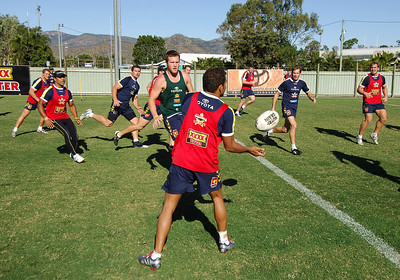15 AUG 2006 TOWNSVILLE, QLD - Cowboys training - PHOTO: CAMERON LAIRD