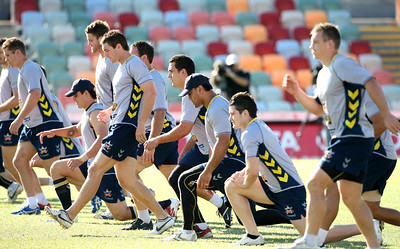 14 Sep 2007 Townsville, Qld, Australia - Cowboys training - PHOTO: CAMERON LAIRD (Ph: 0418 238811)