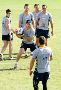 15 Sep 2007 Townsville, Qld, Australia - Cowboys training - PHOTO: CAMERON LAIRD (Ph: 0418 238811)