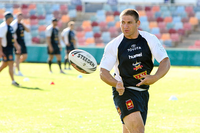 08 May 2008 Townsville, Qld - Daniel Abraham at Cowboys training - Photo: Cameron Laird (Ph: 0418 238811)