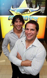 28 April 2008 Townsville, Qld - Cowboys halfback Johnathan Thurston and second rower Carl Webb have been included in the Kangaroos team to take on New Zealand in the Centenary Test - Photo: Cameron Laird (Ph: 0418 238811)