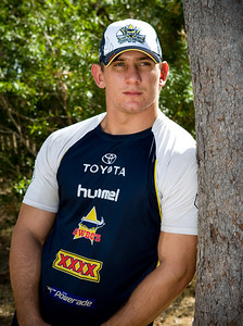 05 June 2008 Townsville, Qld - North Queensland Cowboys second-rower Jacob Lillyman - Photo: Cameron Laird (Ph: 0418 238811)