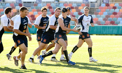 08 May 2008 Townsville, Qld - Cowboys training - Photo: Cameron Laird (Ph: 0418 238811)