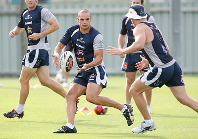 06 January 2009 Townsville, Qld - North Queensland Cowboys training - Photo: Cameron Laird (Ph: 0418 238811)