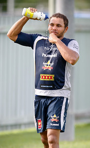 06 January 2009 Townsville, Qld - Matt Bowen at North Queensland Cowboys training - Photo: Cameron Laird (Ph: 0418 238811)