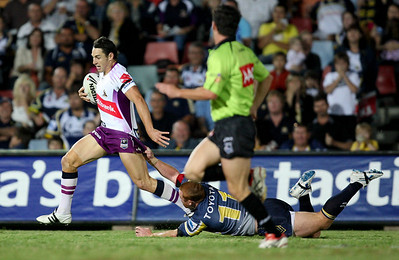 26 April 2008 Townsville, Qld - North Queensland Cowboys v Melbourne Storm (Dairy Farmers Stadium) - Photo: Cameron Laird (Ph: 0418 238811)