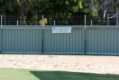 21-SEP-2004  TOWNSVILLE, QLD - Sandpit at Cowboys training field - PHOTO: CAMERON LAIRD