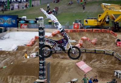 22 November 2008 Townsville, Qld - Adrian Shaban during the Australasian FMX Championship round at Townsville's Dairy Farmers Stadium - Photo: Cameron Laird (Ph: 0418 238811)