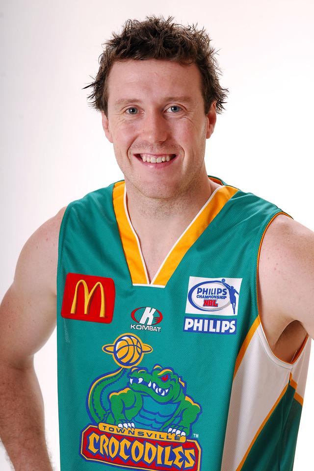 27 JUL 2006 - Daniel Egan #12 (Forward, 197cm, 100kg) - Home playing strip - Townsville McDonald's Crocodiles players/staff photos - PHOTO: CAMERON LAIRD (Ph: 0418 238811)