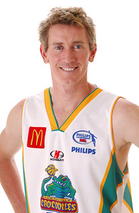 31 OCT 2006 - Blair Smith - Away playing strip - Townsville McDonald's Crocodiles players/staff photos - PHOTO: CAMERON LAIRD (Ph: 0418 238811)