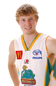 31 OCT 2006 - Max Murray - Away playing strip - Townsville McDonald's Crocodiles players/staff photos - PHOTO: CAMERON LAIRD (Ph: 0418 238811)