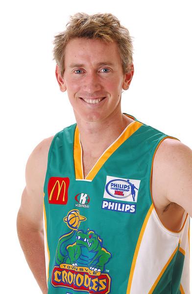 31 OCT 2006 - Blair Smith - Home playing strip - Townsville McDonald's Crocodiles players/staff photos - PHOTO: CAMERON LAIRD (Ph: 0418 238811)
