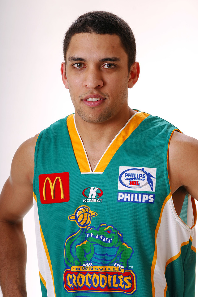 27 JUL 2006 - Michael Cedar #24 (Guard, 190cm, 87kg) - Home playing strip - Townsville McDonald's Crocodiles players/staff photos - PHOTO: CAMERON LAIRD (Ph: 0418 238811)