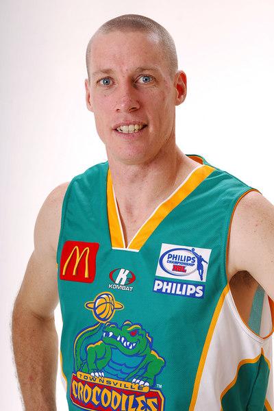 27 JUL 2006 - John Rillie #31 (Guard, 195cm, 85kg) - Home playing strip - Townsville McDonald's Crocodiles players/staff photos - PHOTO: CAMERON LAIRD (Ph: 0418 238811)