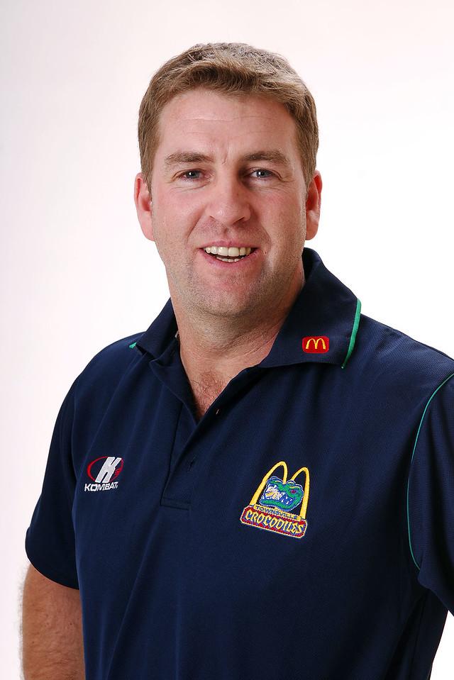 27 JUL 2006 - Trevor Gleeson (Head Coach) - Townsville McDonald's Crocodiles players/staff photos - PHOTO: CAMERON LAIRD (Ph: 0418 238811)