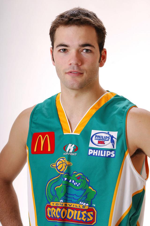 27 JUL 2006 - Drew Williamson #6 (Guard, 195cm, 86kg) - Home playing strip - Townsville McDonald's Crocodiles players/staff photos - PHOTO: CAMERON LAIRD (Ph: 0418 238811)