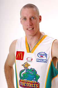 27 JUL 2006 - John Rillie #31 (Guard, 195cm, 85kg) - Away playing strip - Townsville McDonald's Crocodiles players/staff photos - PHOTO: CAMERON LAIRD (Ph: 0418 238811)