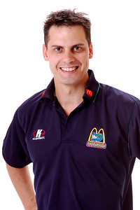 22 AUG 2006 - Paul Parker (Physiotherapist) - Townsville McDonald's Crocodiles players/staff photos - PHOTO: CAMERON LAIRD (Ph: 0418 238811)