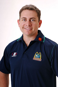 27 JUL 2006 - Cameron Whiting (Strength & Conditioning) - Townsville McDonald's Crocodiles players/staff photos - PHOTO: CAMERON LAIRD (Ph: 0418 238811)