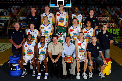 21 SEP 2005 TOWNSVILLE, QLD - Townsville McDonald's Crocodiles 2005-2006 Sponsors Photos.  Wheelz and Wheelz - PHOTO: CAMERON LAIRD