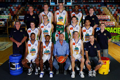 21 SEP 2005 TOWNSVILLE, QLD - Townsville McDonald's Crocodiles 2005-2006 Sponsors Photos.  Readymix Holdings - PHOTO: CAMERON LAIRD