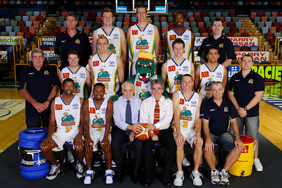 21 SEP 2005 TOWNSVILLE, QLD - Townsville McDonald's Crocodiles 2005-2006 Sponsors Photos.  WHK-TCM Smith - PHOTO: CAMERON LAIRD