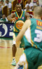 08 Dec 2007 Townsville, Qld - Corey Williams passes in the 3rd quarter - Townsville Crocodiles v Singapore Slingers (Townsville Entertainment & Convention Centre) - PHOTO: CAMERON LAIRD (Ph: 0418 238811)