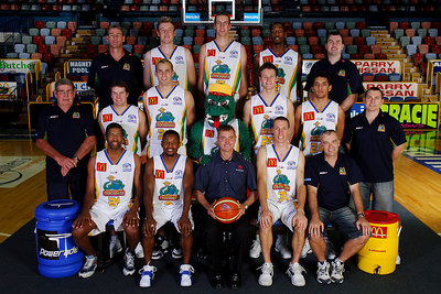 21 SEP 2005 TOWNSVILLE, QLD - Townsville McDonald's Crocodiles 2005-2006 Sponsors Photos.  Seven Townsville - PHOTO: CAMERON LAIRD