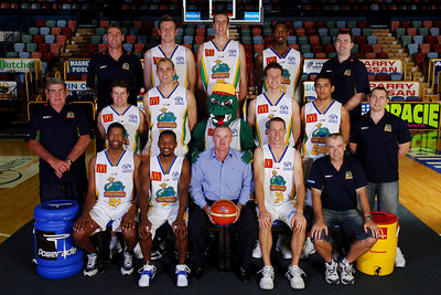 21 SEP 2005 TOWNSVILLE, QLD - Townsville McDonald's Crocodiles 2005-2006 Sponsors Photos.  Telstra Country Wide - PHOTO: CAMERON LAIRD