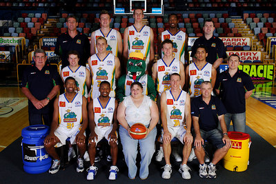 21 SEP 2005 TOWNSVILLE, QLD - Townsville McDonald's Crocodiles 2005-2006 Sponsors Photos.  Jupiters Townsville - PHOTO: CAMERON LAIRD