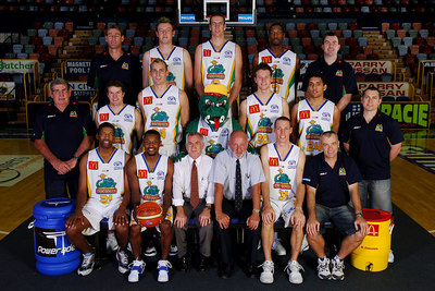 21 SEP 2005 TOWNSVILLE, QLD - Townsville McDonald's Crocodiles 2005-2006 Sponsors Photos.  Mater Misericordiae Hospital - PHOTO: CAMERON LAIRD