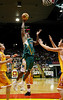 08 Dec 2007 Townsville, Qld - Galen Young flies to the basket - Townsville Crocodiles v Singapore Slingers (Townsville Entertainment & Convention Centre) - PHOTO: CAMERON LAIRD (Ph: 0418 238811)