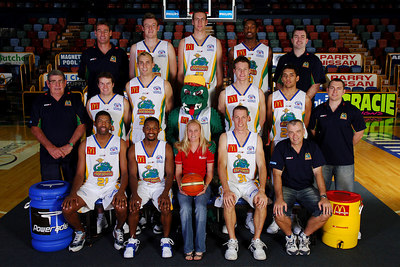 21 SEP 2005 TOWNSVILLE, QLD - Townsville McDonald's Crocodiles 2005-2006 Sponsors Photos.  Townsville Bulletin - PHOTO: CAMERON LAIRD