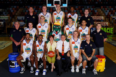 21 SEP 2005 TOWNSVILLE, QLD - Townsville McDonald's Crocodiles 2005-2006 Sponsors Photos.  McDonald's Family Restaurants - PHOTO: CAMERON LAIRD